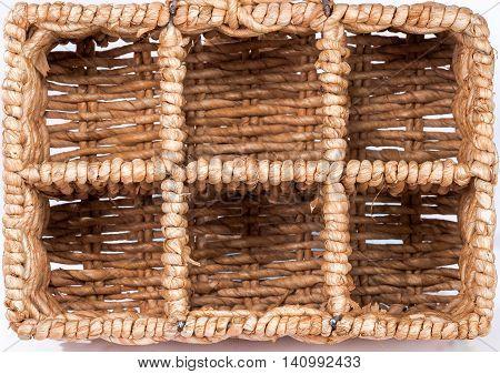 Wicker Basket Storage Cells