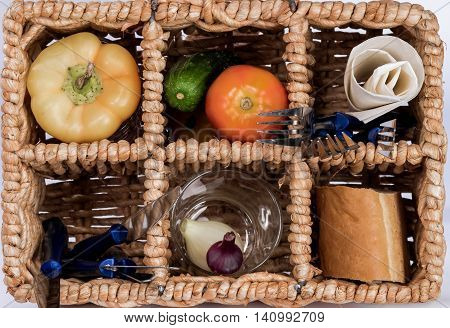 Backet For Picnic