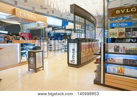 KUALA LUMPUR, MALAYSIA - CIRCA MAY, 2016: a store at Kuala Lumpur International Airport. Kuala Lumpur International Airport (KLIA) is Malaysia's main international airport