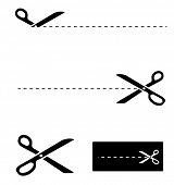 foto of scissors  - scissors template - JPG