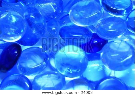Glass Marble - Blue