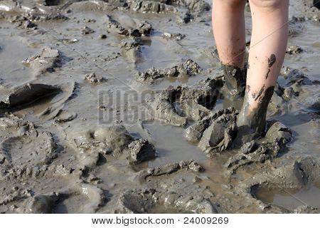 Muddy Feet In The Tideland