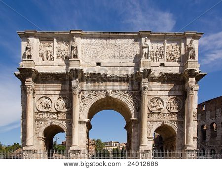 Arch of Constantine Rome (Italy)