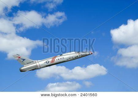 Jet-Vorbeiflug