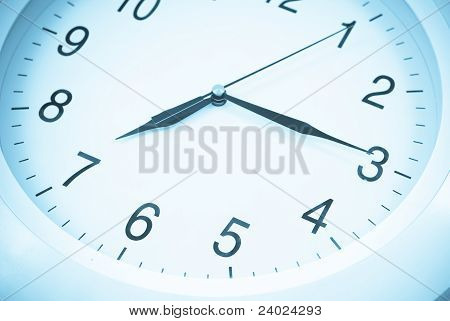 7:15 On Clock Face