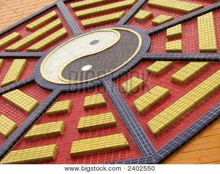 Octagonal Symbol Of Taoism