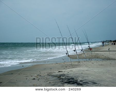 Beach Fishing Poles
