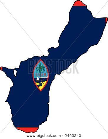Map Guam