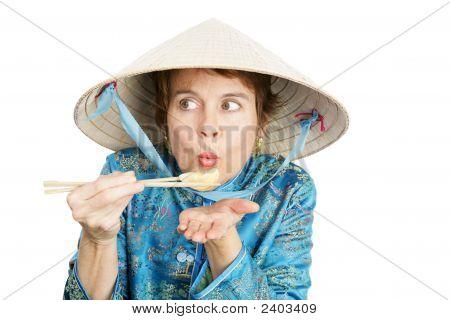 Tourist & Hot Chinese Dumpling