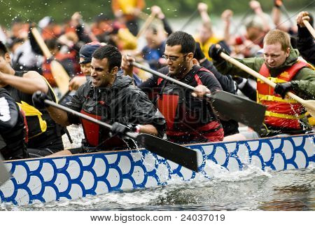 Price-Waterhouse-Coopers Dragon Boat racing