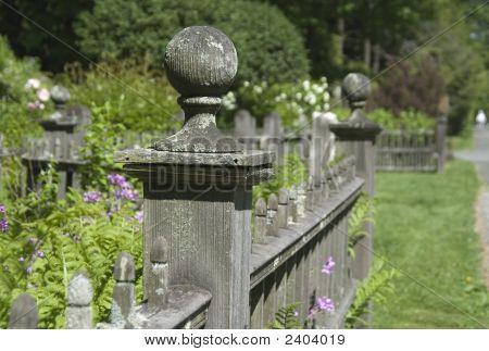 Old Fence In Stockbridge, Ma
