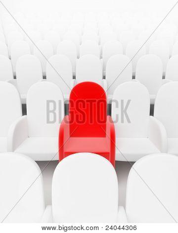 Sala de cine o conferencia de auditorio teatro de vacío