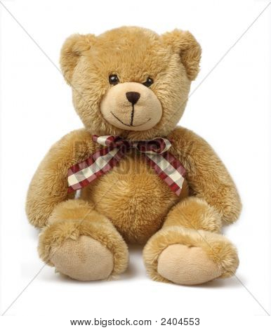 Teddybär, Isolated On White