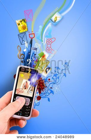 creative design mobile phone