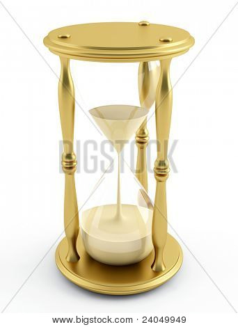 illustration of a sandglass ? hourglass