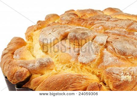 Homemade bread - a loaf