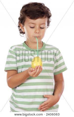Eating A Lemon