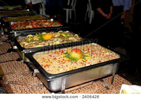 Wedding Buffet Line