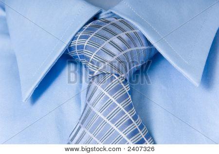 Man'S Shirt And Necktie