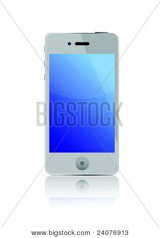 Projeto de ilustração de smart phone 4G