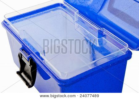 Makeup Case Blue Open