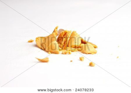 Fortune Cookie Smashed