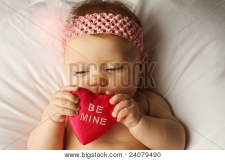 Baby Heart Look