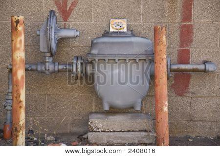 Heavy Duty Gas Meter