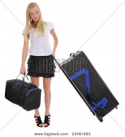 Mädchen-Traveler