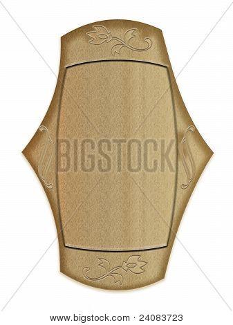 Photo frame as a shield