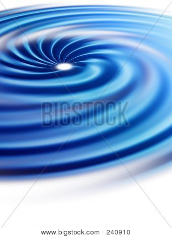 Spiral – A Blue Background With Swirl