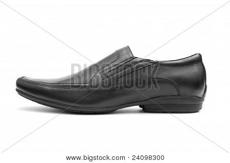 Black  Man's Shoe