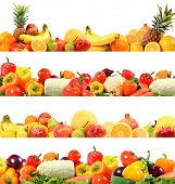pic of fruits vegetables  - splendid vegetable and fruit composition high quality - JPG