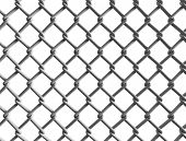 image of chain link fence  - Seamless construction net - JPG