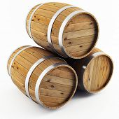 stock photo of chimes  - barrel - JPG