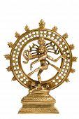 stock photo of bharata-natyam  - Statue of indian hindu god Shiva Nataraja  - JPG