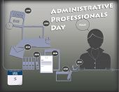 Administrative Professionals Day poster