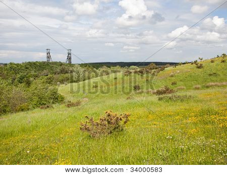 Clipstone Colliery View