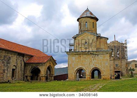 Orthodox Monastery Gelati Near Kutaisi - Georgia