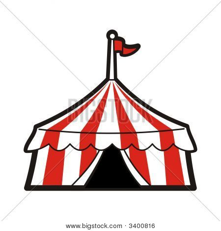 Red Circus Tent
