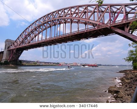 The hell's gate bridge