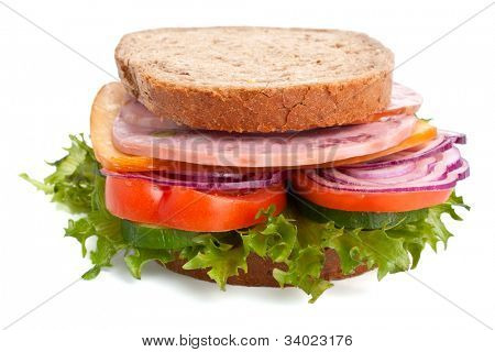 whole wheat sandwich