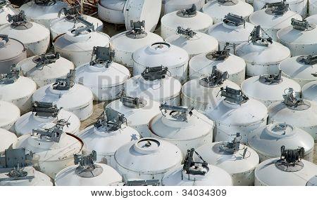 Pratos de antena GSM usados