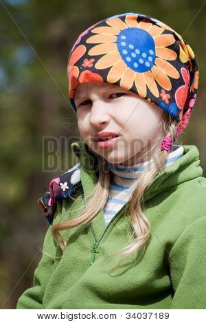 Little Girl In Bandana