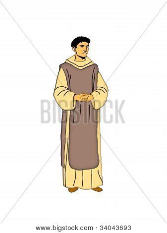 Cistercian Monk.