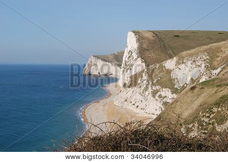 coastline in Southern England
