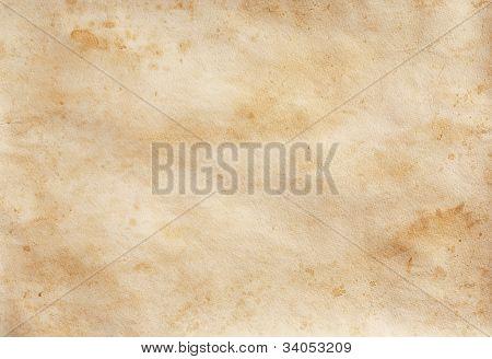 Paper in spots