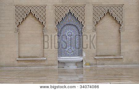 Rabat arabesque and mosaic
