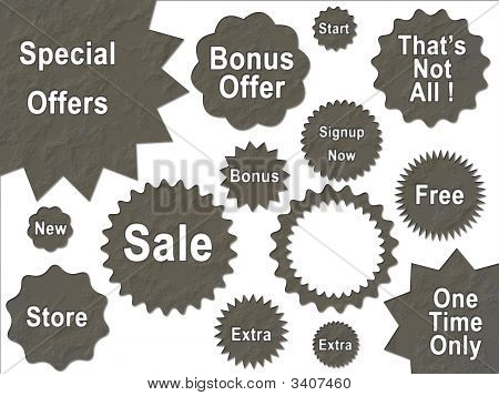Spackle Plaster Textured Background Stone Special Promotion Sale Stars And Shapes