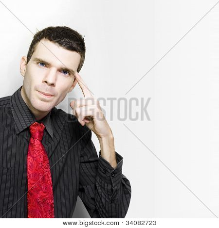 Businessman In Thought